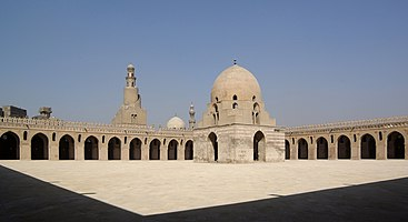 Mosque of Ibn Tulun at Cairo
