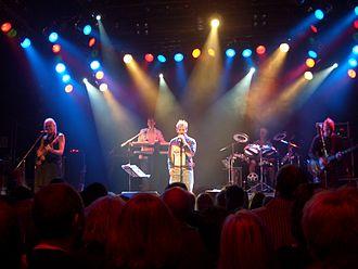 Kajagoogoo - Kajagoogoo in Bochum, Germany; 2008.  L-R: Nick Beggs, Stuart Croxford Neale, Limahl, Jez Strode and Steve Askew.