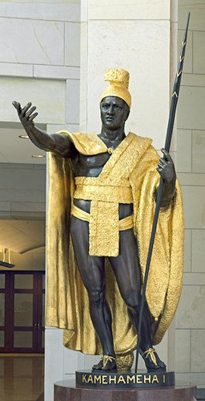 Kamehameha I (Gould) - The statue in the National Statuary Hall Collection