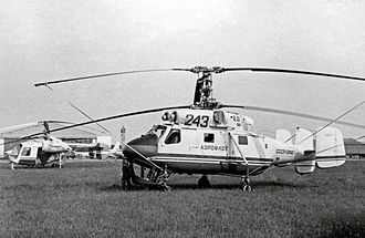Kamov Ka-25 - Kamov Ka-25K in Aeroflot markings at the 1967 Paris Air Show