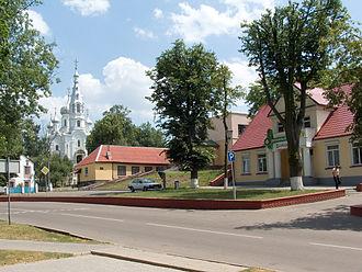 Kamyenyets - A street in Kamyenyets.