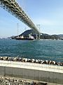 Kanmonkyo Bridge and Mekari 3.jpg