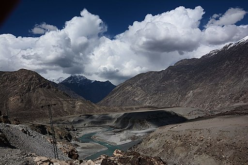 Karakarum, hindukush and himalya junction point