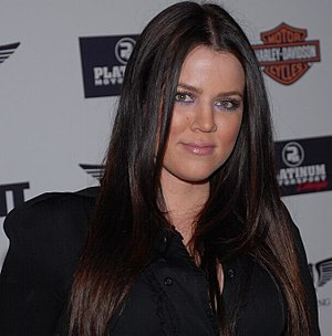Khloé Kardashian - Kardashian, pictured in November 2007.
