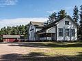 Karhiniemen kyläkartano, village hall, Karhiniemi, Huittinen Finland.jpg