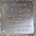Karl Johann August Hacker - Weidestraße 125 (Hamburg-Barmbek-Süd).Stolperstein.nnw.jpg