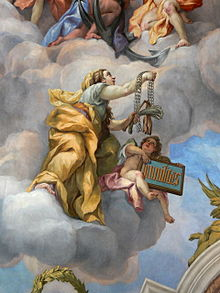 Fresco by Johann Michael Rottmayr