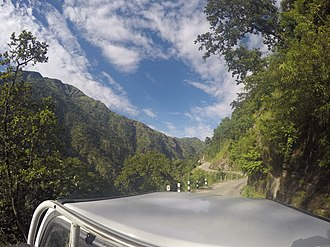 Karnali Highway - highway captured when traveling
