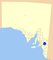 Municipalità di Karoonda East Murray – Mappa