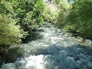Kasagh River - Kasakh river in Ashtarak