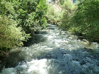 Ashtarak - Kasagh River in Ashtarak