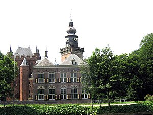 Vechtstreek - Nijenrode Castle, located near the river Vecht
