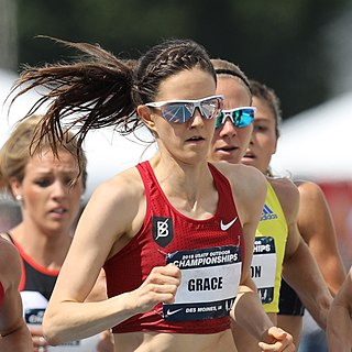 Kate Grace American middle-distance runner