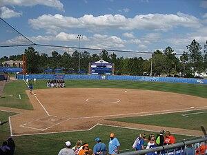 Katie Seashole Pressly Softball Stadium - Image: Katie Seashole Pressly Softball Stadium