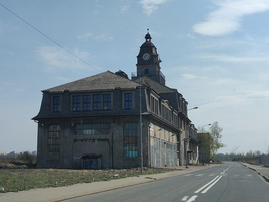 Katowice] b  dyrekcja b  Huty Uthemanna / Silesia Jeans