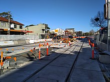 Kensington light rail stop 20180701.jpg