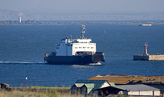 Kerch Strait ferry line - Image: Kerch Ferry Yeysk