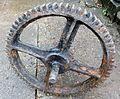 Kersland Mill - cog wheel and axle.JPG