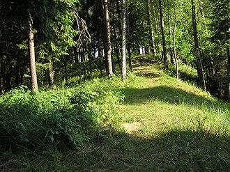 Molėtai District Municipality - Image: Kertuojos piliakalnis