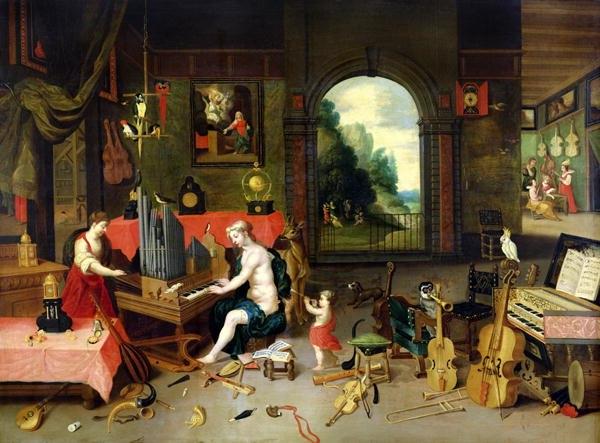 Kessel, Jan van Sr. - Allegory of Hearing