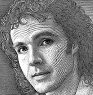 """Hedcut - Kevin Sprouls, a """"hedcut"""" autoportrait."""
