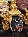 Khon Mask Black God.JPG