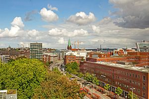 Kiel - Panoramic view of the city