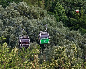 IGA Cable Car - Image: Kienberg B Marzahn 06 2017 img 12