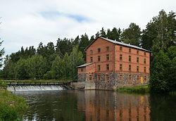 Kiidjärve watermill by the Ahja River.