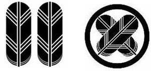 Japanese clans - Mon of Kikuchi clan