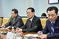 Kim Hyong-jun during a meeting with Konstantin Kosarev.jpg