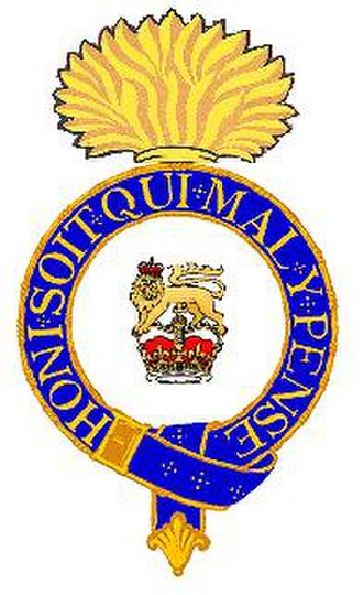 Soldier Soldier - Cap badge of the King's Own Fusiliers