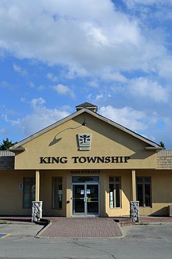 The former township offices at King City Plaza