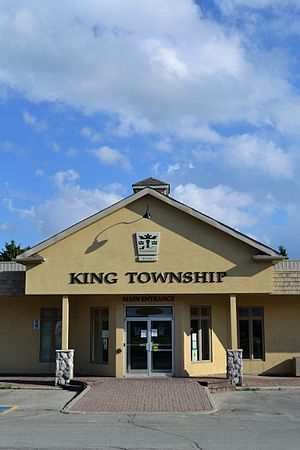 King City, Ontario - The King Township municipal offices are located in King City.