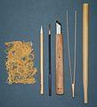 Kirikane tools.JPG