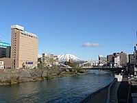 Kitakami river in Morioka.jpg