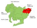 Kitashitara Aichi Map.png