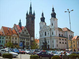 Klatovy Town in Czech Republic