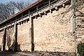 Klingenschütt Stadtmauer, vom Kummereck zum Henkerturm Rothenburg ob der Tauber 20180216 001.jpg