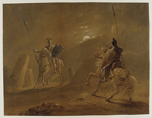 Knight's Encounter LACMA M.76.167.19