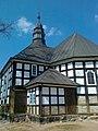 Kościół Św. Wawrzyńca męczennika z drewnianą wieżą wybudowany w 1812 roku - panoramio.jpg
