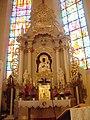 Kościół Matki Bożej Częstochowskiej w Lubinie - ołtarz.JPG