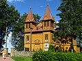 Kościół par. św. Bartłomieja, drewn., poł. XVIII, XIX oraz dzwonnica, drewn Paprotnia 03 JoannaPyka.JPG