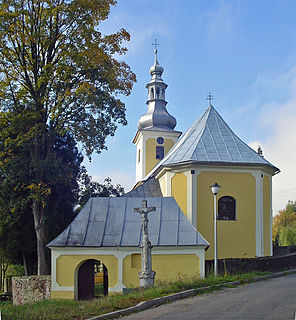 Krajanów Village in Lower Silesian Voivodeship, Poland