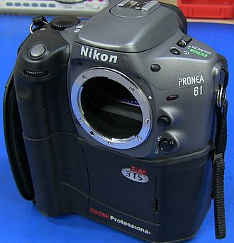 Kodak DCS 300 series - The Kodak DCS315 DSLR camera with Nikon Pronea 6i body
