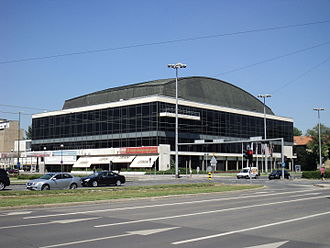 Eurovision Song Contest 1990 - Vatroslav Lisinski Concert Hall, Zagreb – host venue of the 1990 contest.