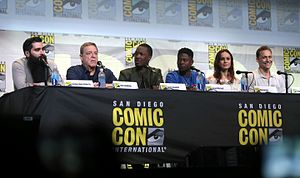 Kong: Skull Island - The cast and director of Kong: Skull Island at the 2016 San Diego Comic-Con to promote the film