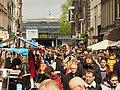 Koningsdag in Amsterdam, Haarlemmerdijk foto 2.JPG