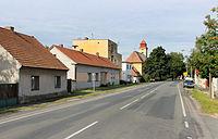 Kostelní Lhota, road No. 611.jpg