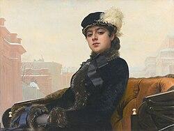 Ivan Kramskoi: Portrait of an Unknown Woman